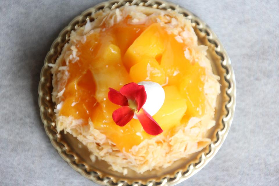 完熟アップルマンゴーのパイ