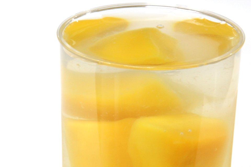 オレンジ・マンゴー生ゼリー